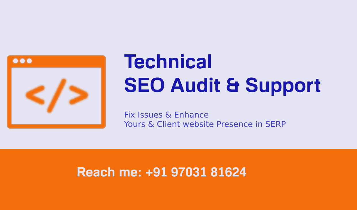 Technical SEO on-site Audit by SEO Expert