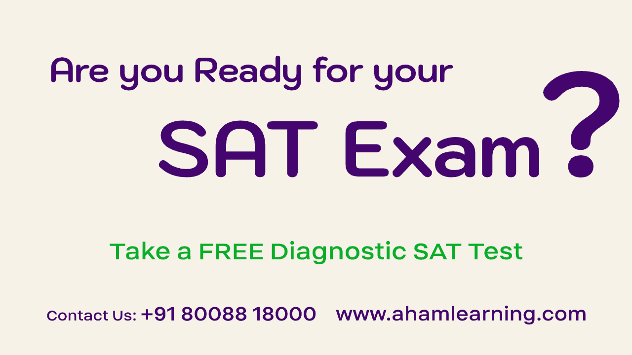 Free SAT Diagnostic test